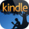 Kindle for the iPhone icon