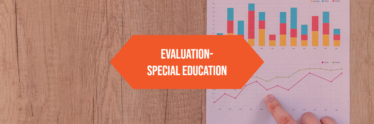Evaluation- Special Education graphic