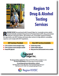 R10 Bus Driver Drug & Alcohol Testing Services Flyer
