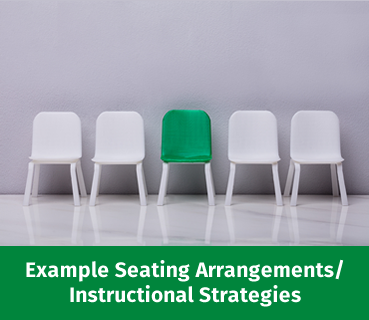Click button to read about Example Seating Arrangements to use in R10 training rooms