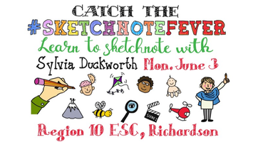 Sketchnoting with Sylvia Duckworth:  Visual Note-taking Made Easy