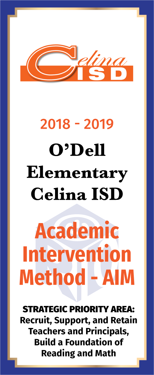 O'Dell Elementary Academic Intervention Method - front