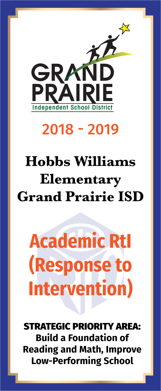 Hobbs Williams Elementary Academic RTI - front
