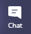 Chat button in Microsoft Teams