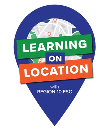 Learning on Location logo