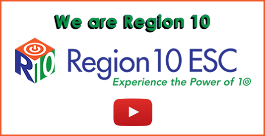 We are Region 10 - logo - Experience the Power of 10